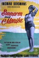 Sommaren med Monika - Swedish Movie Poster (xs thumbnail)