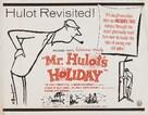 Les vacances de Monsieur Hulot - Re-release movie poster (xs thumbnail)