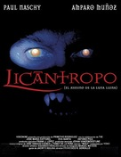 Licántropo: El asesino de la luna llena - Spanish Movie Poster (xs thumbnail)
