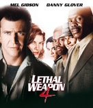 Lethal Weapon 4 - Blu-Ray movie cover (xs thumbnail)