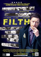 Filth - Australian Movie Poster (xs thumbnail)