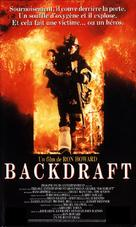 Backdraft - French VHS movie cover (xs thumbnail)