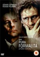 Pura formalità, Una - British Movie Cover (xs thumbnail)