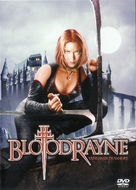 Bloodrayne - Mexican DVD movie cover (xs thumbnail)