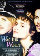 Twelfth Night: Or What You Will - German Movie Poster (xs thumbnail)