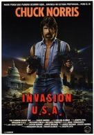 Invasion U.S.A. - Spanish Movie Poster (xs thumbnail)