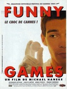 Funny Games - French Movie Poster (xs thumbnail)