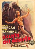 The Desert Song - Italian Movie Poster (xs thumbnail)