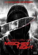 Mischief Night - French DVD movie cover (xs thumbnail)