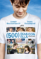 (500) Days of Summer - Argentinian Movie Cover (xs thumbnail)