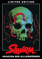 Squirm - German DVD cover (xs thumbnail)