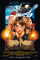 Harry Potter and the Sorcerer's Stone - Video release movie poster (xs thumbnail)