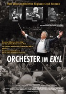 Orchestra of Exiles - German Movie Poster (xs thumbnail)