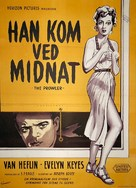 The Prowler - Danish Movie Poster (xs thumbnail)