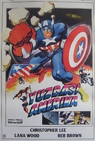 Captain America II: Death Too Soon - Turkish Movie Poster (xs thumbnail)