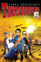 Thunderbird 6 - DVD cover (xs thumbnail)