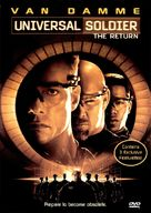 Universal Soldier 2 - DVD cover (xs thumbnail)