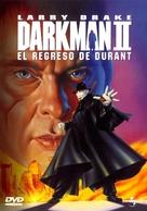 Darkman II: The Return of Durant - Spanish Movie Cover (xs thumbnail)