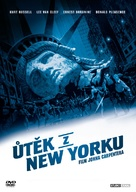 Escape From New York - Czech DVD cover (xs thumbnail)
