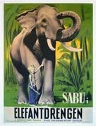 Elephant Boy - Danish Movie Poster (xs thumbnail)