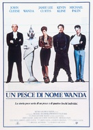 A Fish Called Wanda - Italian Movie Poster (xs thumbnail)