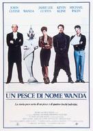 A Fish Called Wanda - Italian Movie Poster (xs thumbnail)