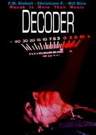 Decoder - German Movie Cover (xs thumbnail)