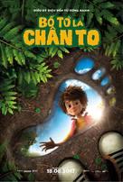 The Son of Bigfoot - Vietnamese Movie Poster (xs thumbnail)