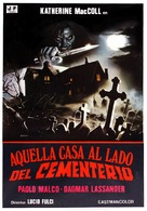 Quella villa accanto al cimitero - Spanish Movie Poster (xs thumbnail)