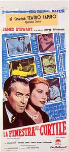 Rear Window - Italian Movie Poster (xs thumbnail)