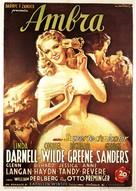 Forever Amber - Italian Movie Poster (xs thumbnail)