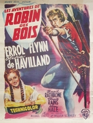 The Adventures of Robin Hood - Belgian Movie Poster (xs thumbnail)