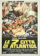 Warlords of Atlantis - Italian Movie Poster (xs thumbnail)