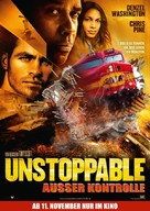 Unstoppable - German Movie Poster (xs thumbnail)