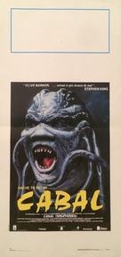 Nightbreed - Italian Movie Poster (xs thumbnail)