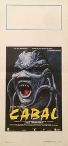Nightbreed - Italian Movie Poster (xs thumbnail)