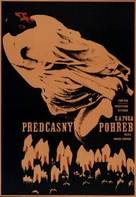 Premature Burial - Czech Movie Poster (xs thumbnail)