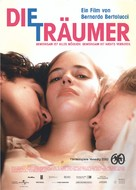 The Dreamers - German Movie Poster (xs thumbnail)