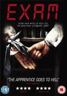 Exam - British DVD movie cover (xs thumbnail)