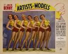 Artists & Models - poster (xs thumbnail)