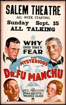 The Mysterious Dr. Fu Manchu - Movie Poster (xs thumbnail)