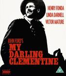 My Darling Clementine - British Blu-Ray movie cover (xs thumbnail)