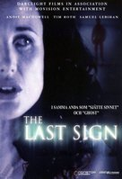 The Last Sign - Danish Movie Cover (xs thumbnail)