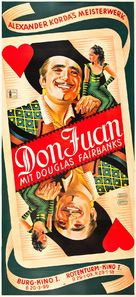 The Private Life of Don Juan - Austrian Movie Poster (xs thumbnail)