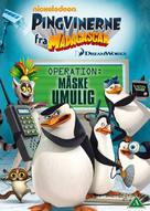 """""""The Penguins of Madagascar"""" - Danish DVD movie cover (xs thumbnail)"""