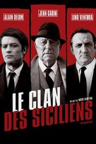 Le clan des Siciliens - French Movie Cover (xs thumbnail)