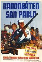 The Sand Pebbles - Swedish Movie Poster (xs thumbnail)