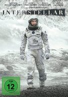 Interstellar - German DVD movie cover (xs thumbnail)
