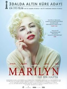 My Week with Marilyn - Turkish Movie Poster (xs thumbnail)