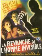 The Invisible Man's Revenge - French Movie Poster (xs thumbnail)